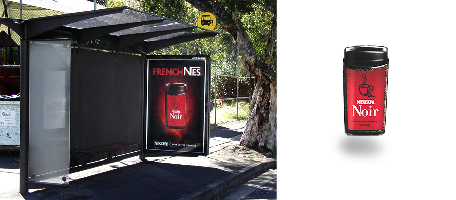 Nescafe bustop coffee still life photography