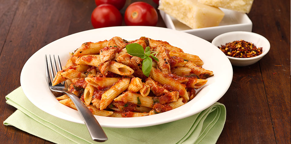 Pasta Pantry Website and advertising