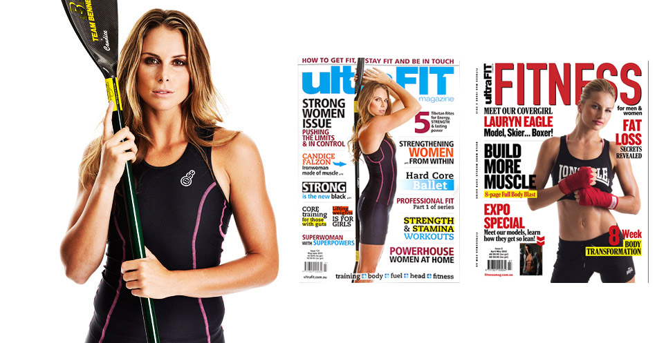 Candice Falzon and Lauryn Eagle for Ultrafit Magzine