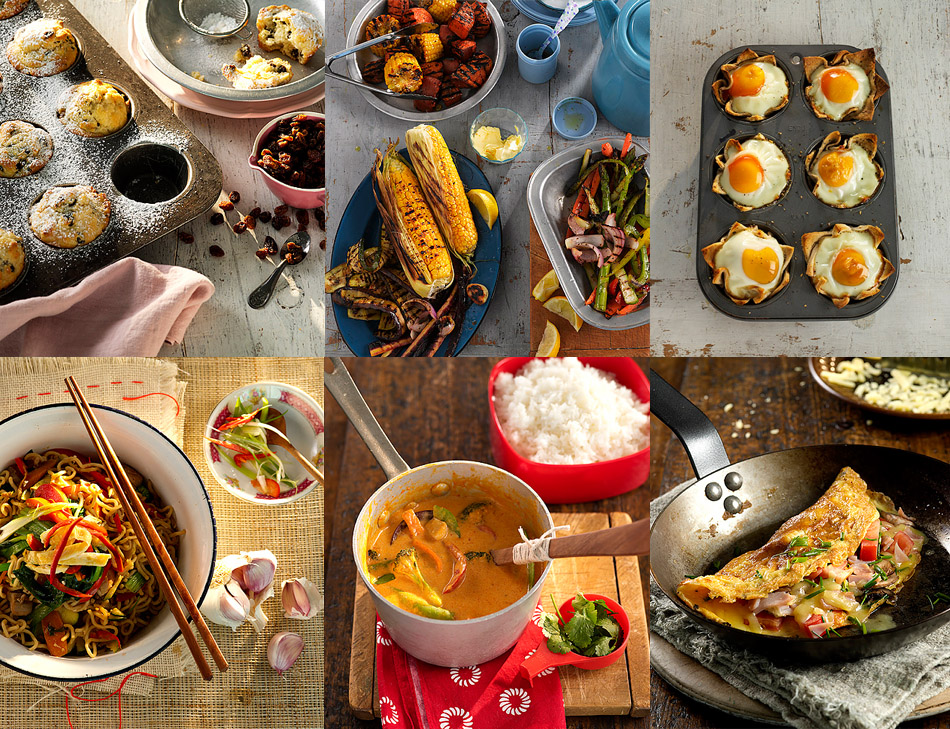 Yhunger Cookbook Produced by Purple Goat Design -Food Styling by Kristin Beusing