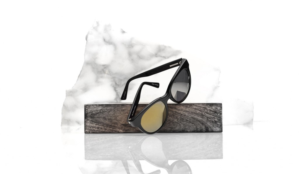 sunglass still life on marble for samantha wills fashion brand