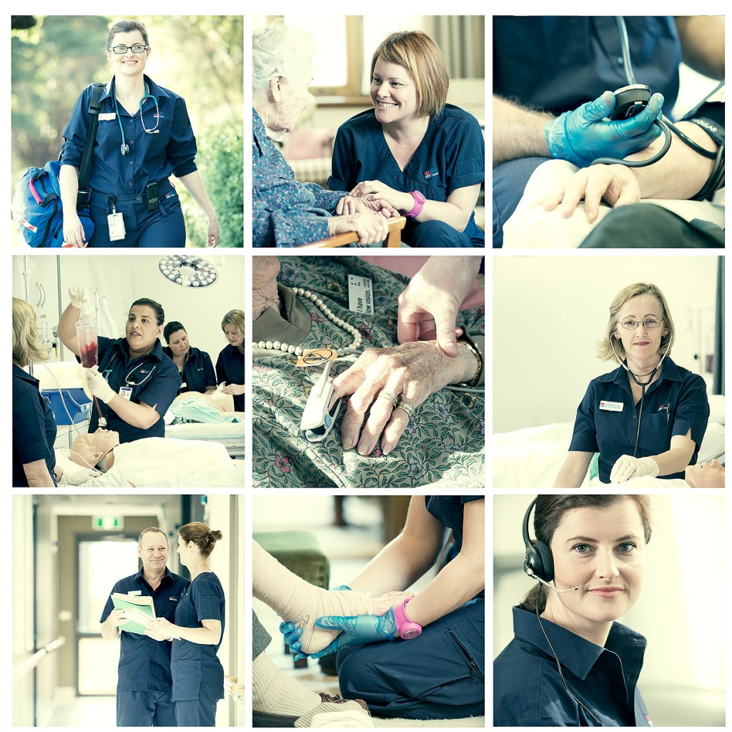 nurses in NSW age care and home visits