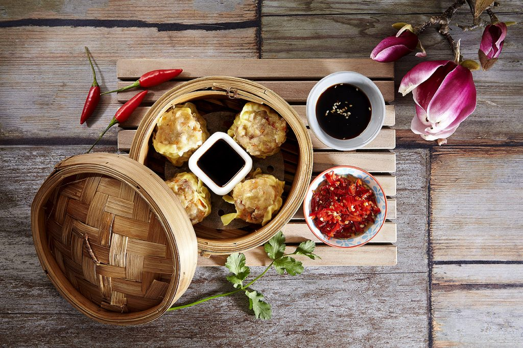 dumplings still life on plate food photography