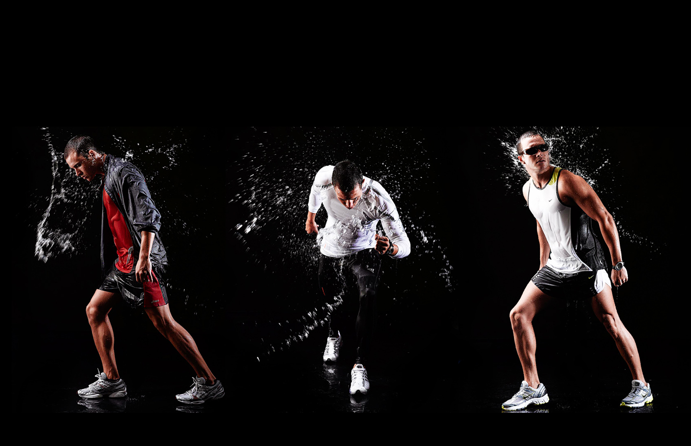 Sports adverting and active wear photography for magazine and editorial action