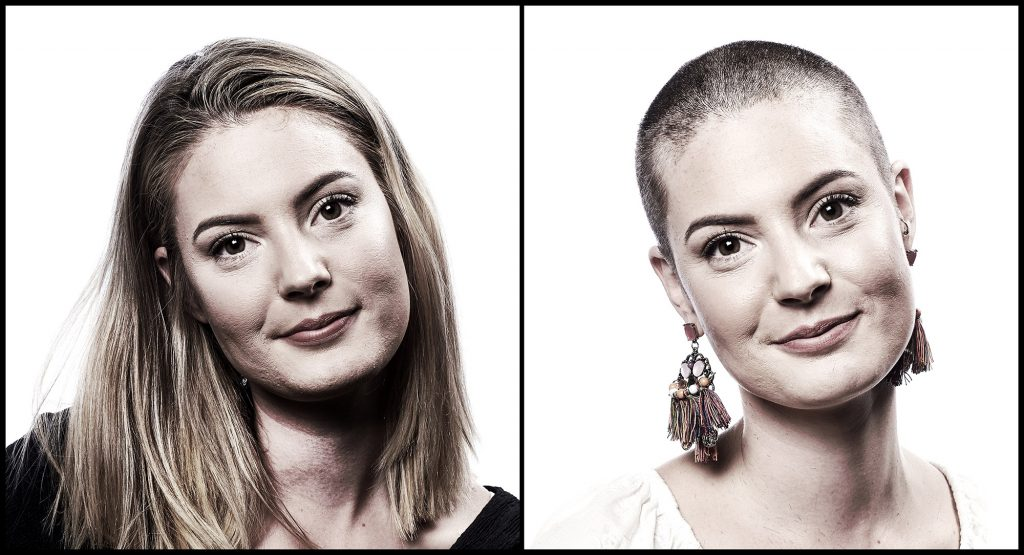 The Greatest Shave - Agency Abnorml shaved head before and after