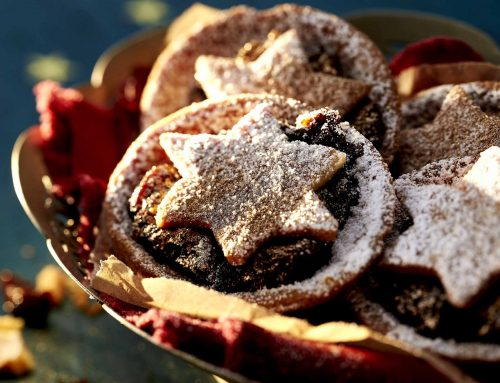 here's the Recipe for our Christmas Mince tarts – recipe and styling by Kai Ellmann