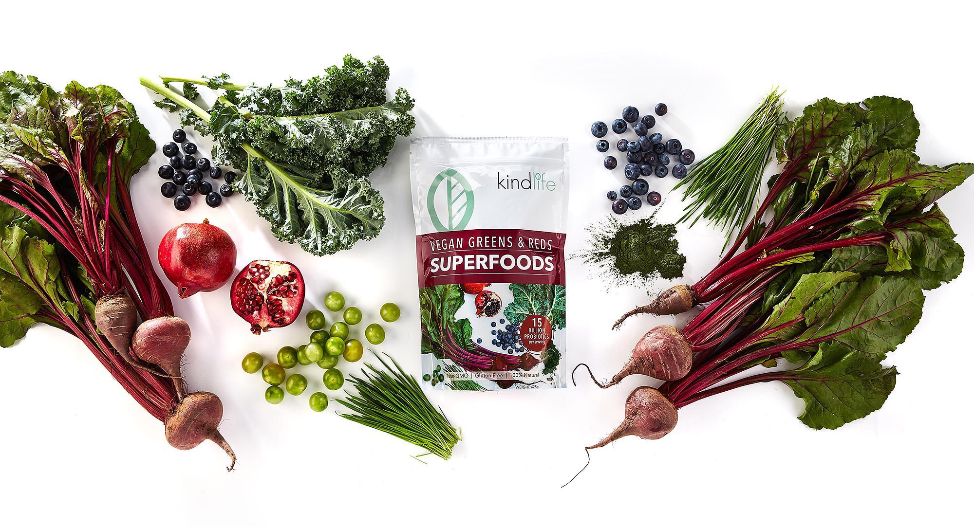 Kind Life Superfoods vegan plant based protein